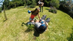 Kayla & Julie vs Jason & Tony